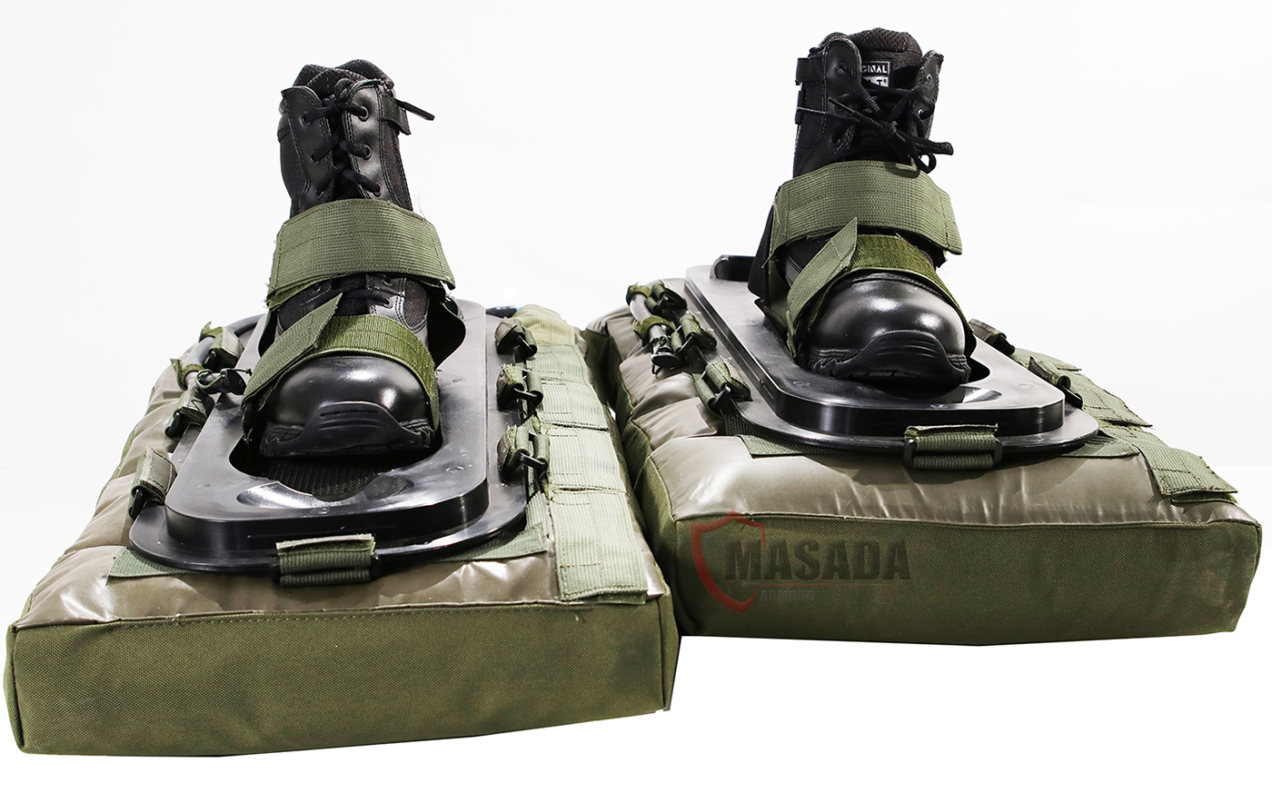 EOD Cortex inflatable mine shoes