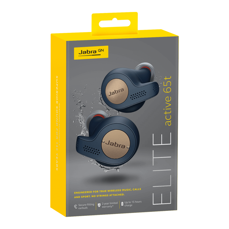 אוזניות JABRA Elite Active 65t True Wireless בהנחה באתר