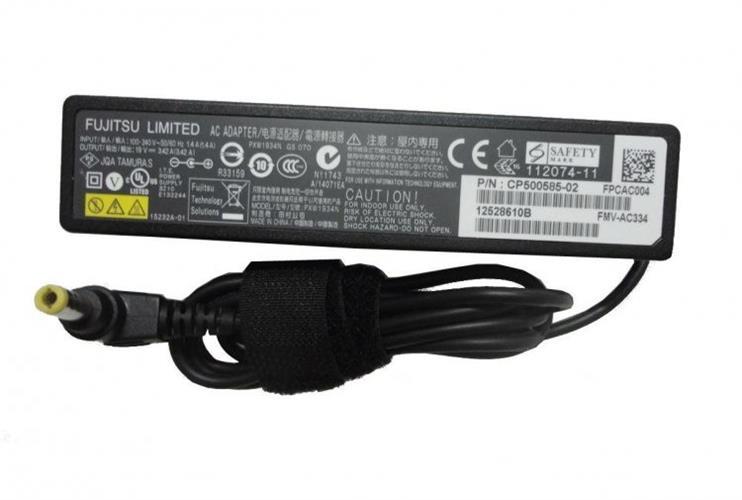 מטען מקורי מחשב נייד פוגיטסו Fujitsu CP500585-02 65W 19V 3.42A 5.5mm * 2.5mm