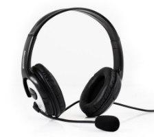 אוזניות ומיקרופון חוט Microsoft LX3000