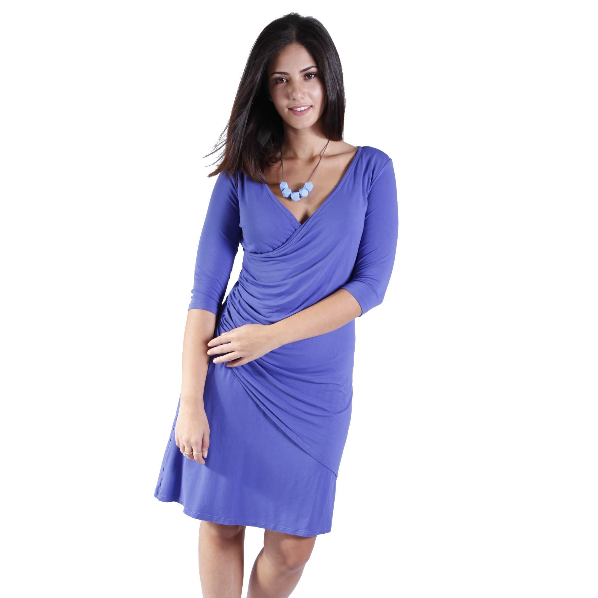 שמלת הנקה מעטפת