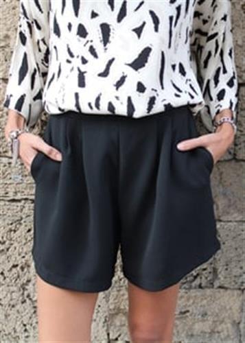 מכנסיים רומבה שחור