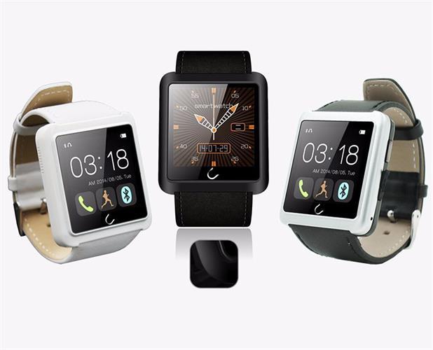 שעון סמארטפון UWATCH דגם U10L מתקדם רצועת עור