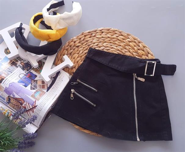 חצאית רוכסנים דגם 12414