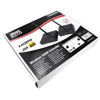 מאריך HDMI אלחוטי עד 100 מטר 1080P מבית LMS DATA משדר מקלט