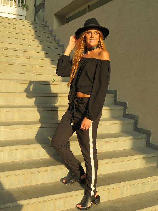 מכנס סטלה- שחור