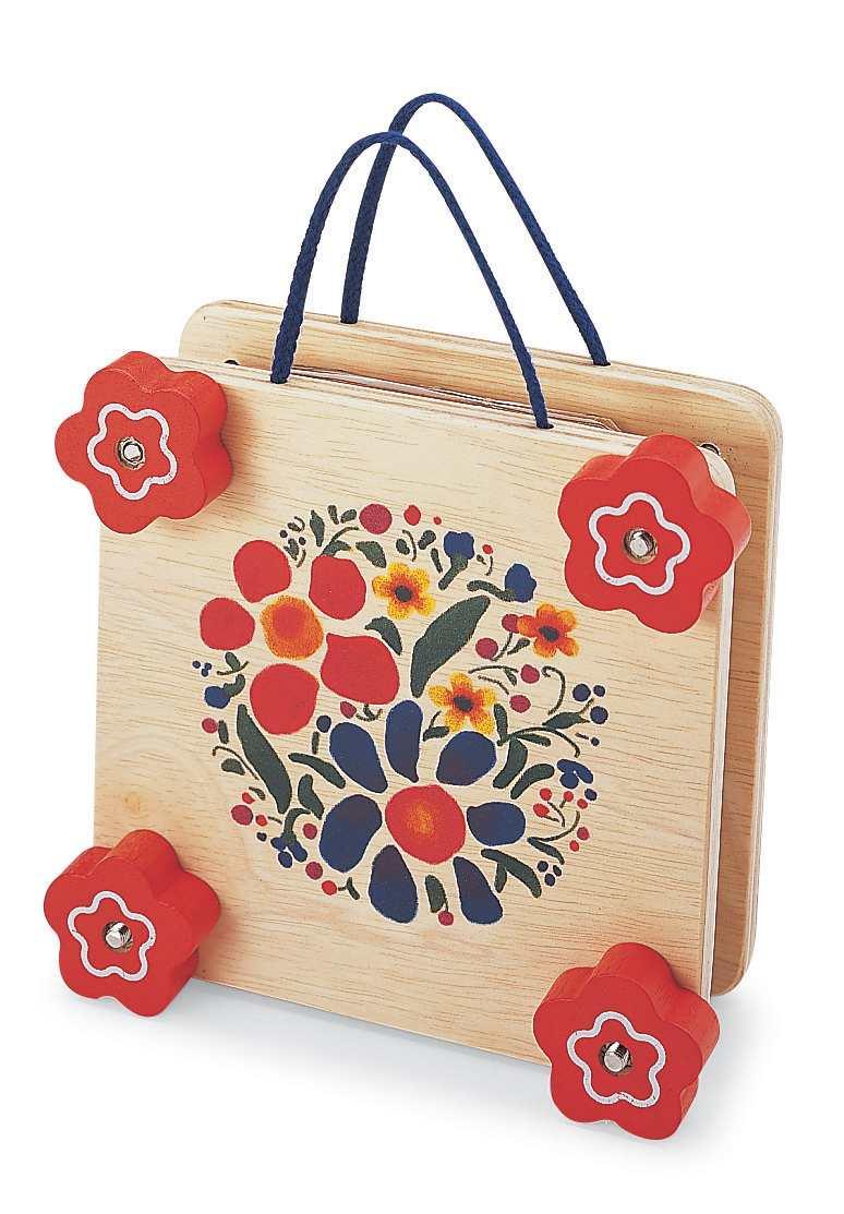 ערכה לייבוש פרחים - עץ