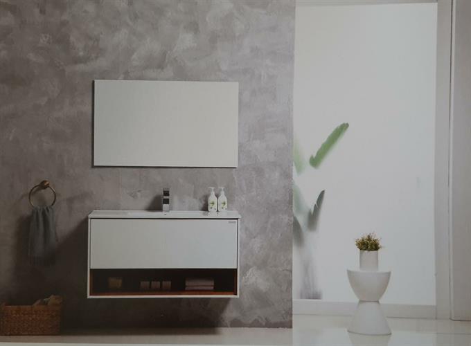 ארון אמבטיה תלוי בעיצוב נקי דגם קליר CLEAR