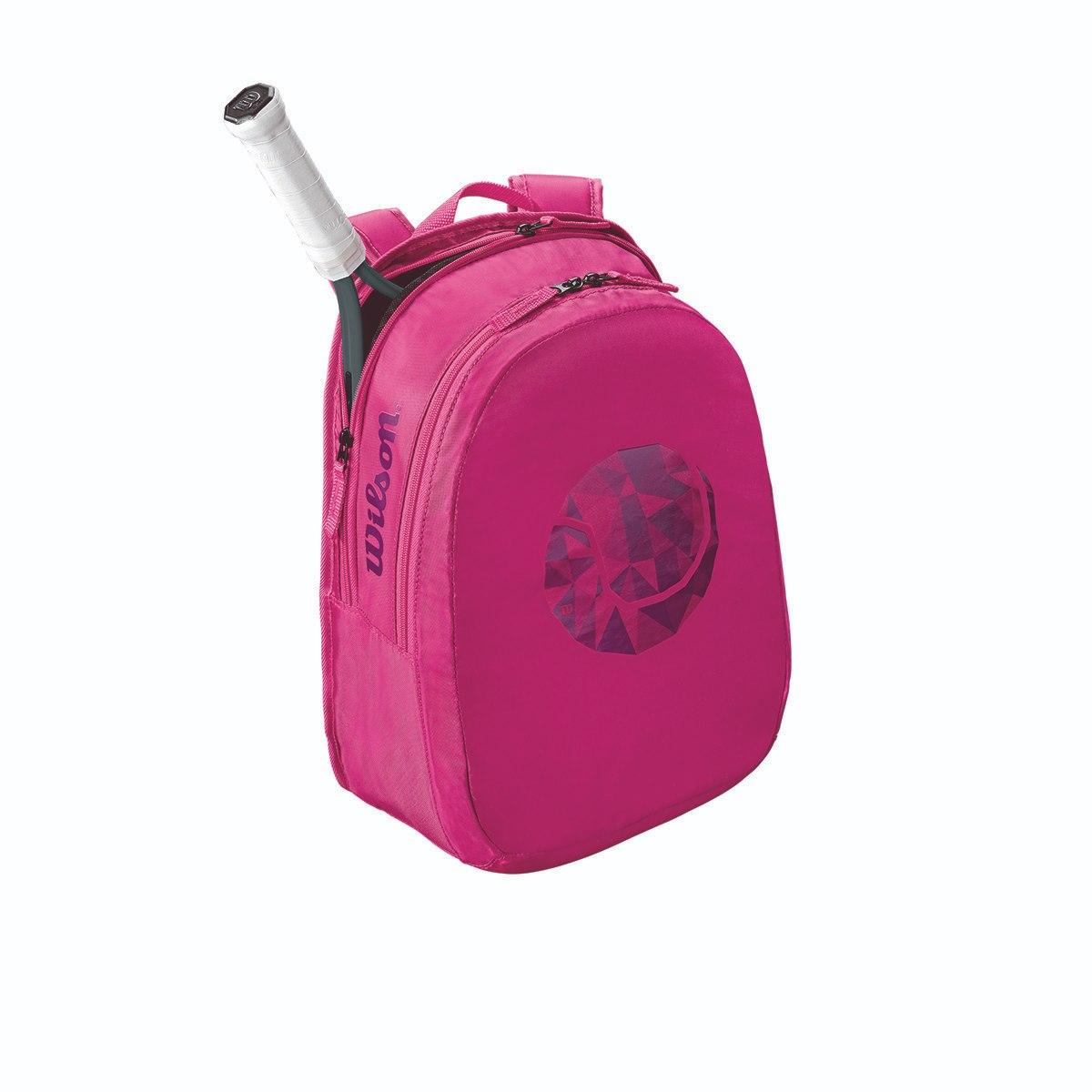 תיק טניס Wilson Junior BackPack Pink