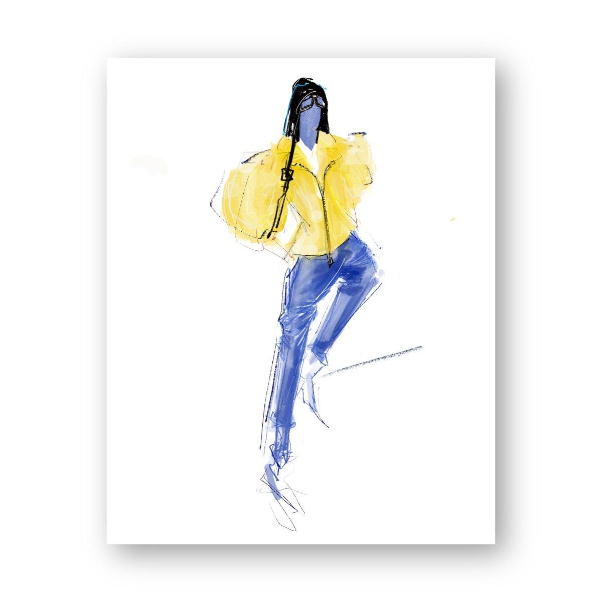 איור אופנה #35