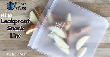 שקית סנדוויץ' אטומה לנוזלים ואוויר במגוון גדלים - פלנט ווייז