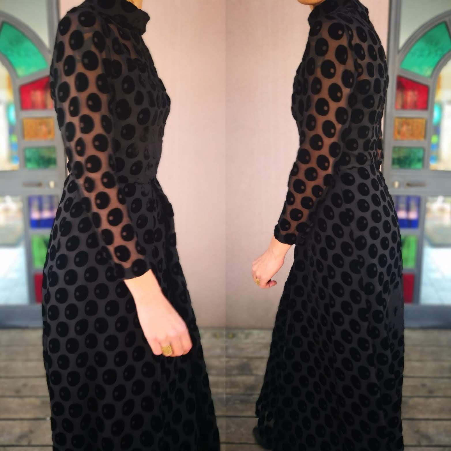 שמלת מקסי יפהפייה ומלכותית מידה M