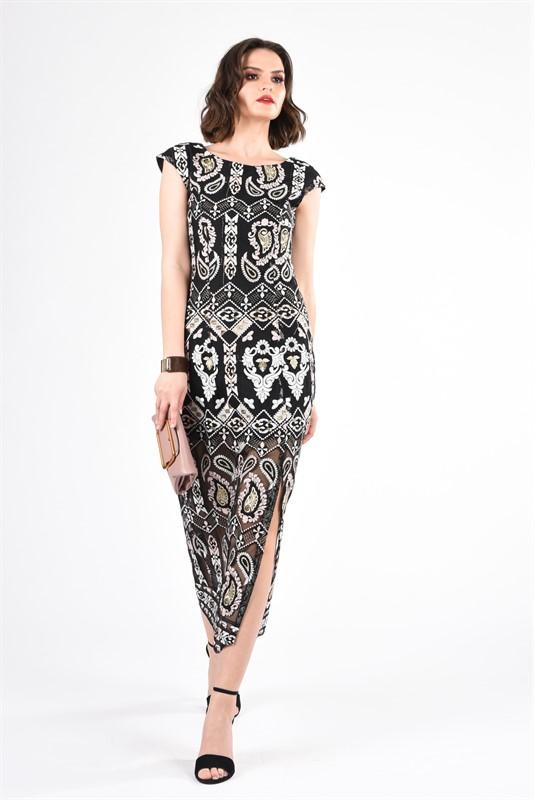 שמלה טוליפ תחרה