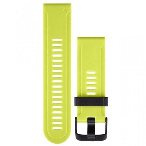 רצועה סיליקון מקורית לשעון גרמין Garmin Fenix 3 ירוק