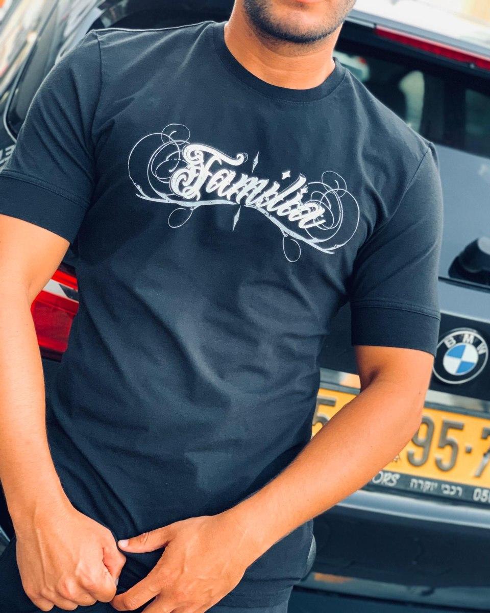 גברים | T-AKASHI FAMILIA BLACK