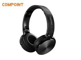 אוזניות בלוטוס בצבע שחור מבית COMPOINT