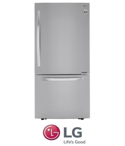 LG מקרר מקפיא תחתון נירוסטה מוברשת דגם GM859RSC