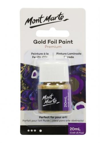 צבע מטאלי נוזלי - זהב MONT MATRE