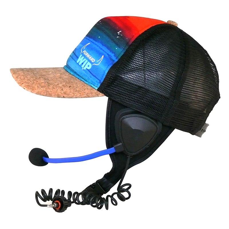 כובע מצחיה כולל מיקרופון ואזניה (ללא יחידת בסיס) B01CR