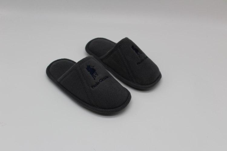 נעלי בית חמות ילדים אפור