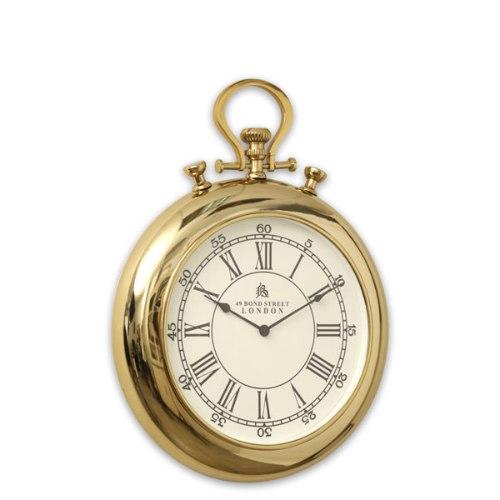 שעון נירוסטה ADAGIO מידות:53X53 זהב