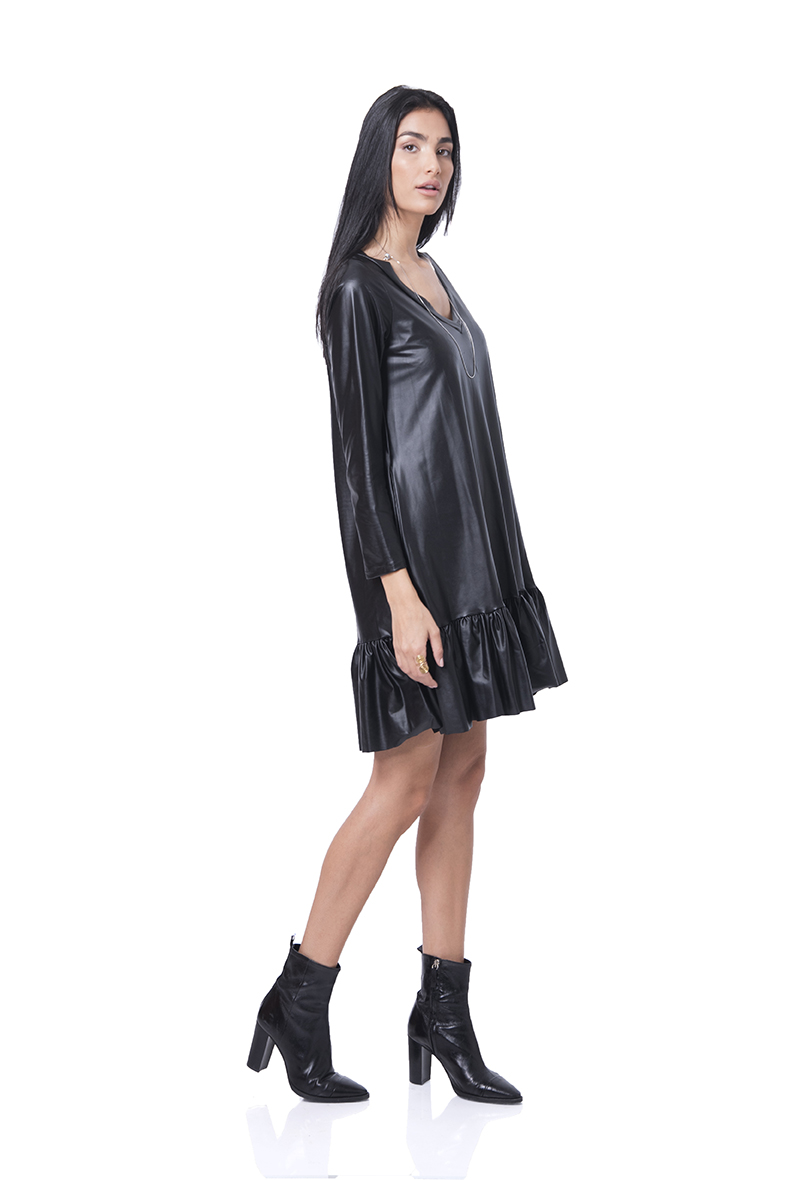 שמלה עלמה שחורה