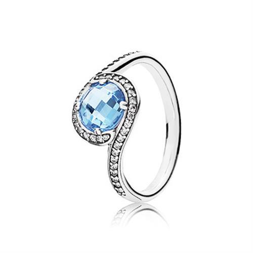 טבעת כסף פנדורה 190968NBS