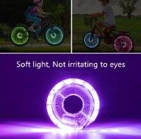 אורות LED לאופניים לרכיבה בטוחה