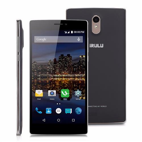 """סמארטפון iRULU Victory V3 מסך """"6.5 Quad Core 2GB+16GB Android 5.1 Dual SIM 13MP AF 4G HD IPS"""