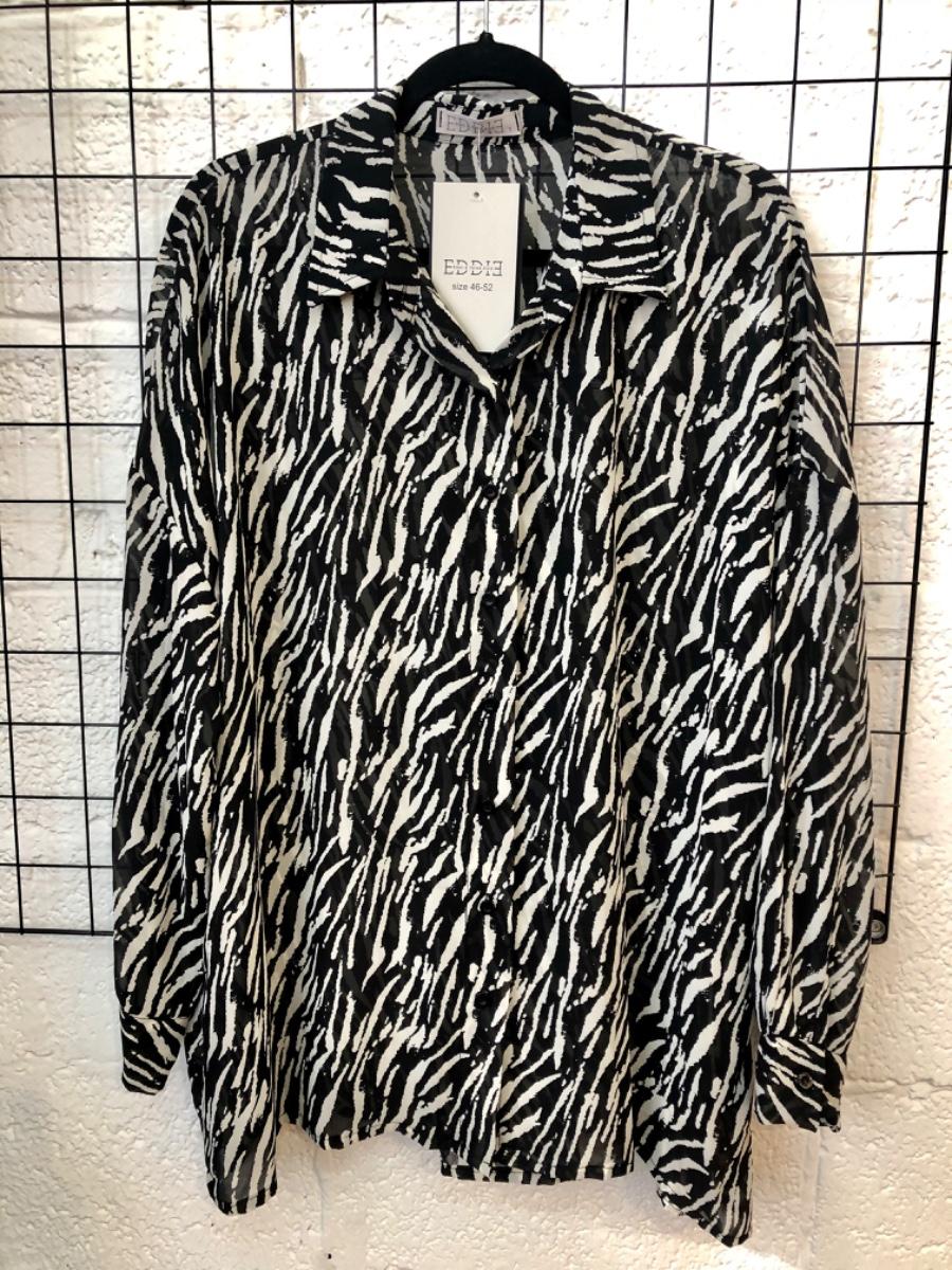 חולצת מיילי זברה