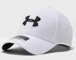כובע של אנדר ארמור צבע לבן סמל שחור