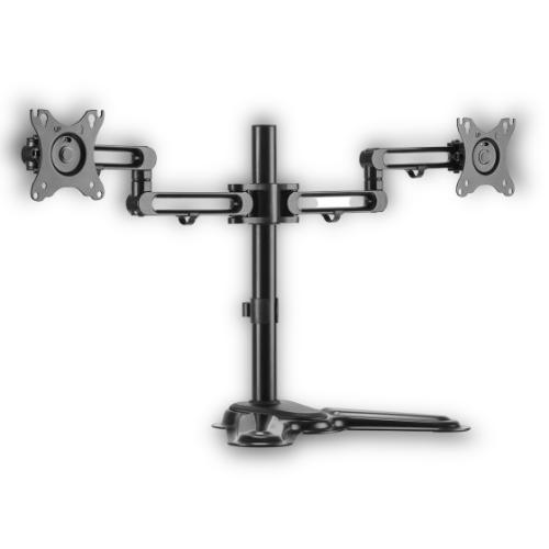 מתקן שולחני ל 2 מסכים Lumi LDT30-T024 זרוע ל 2 מסכים