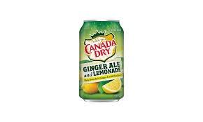 משקה פחית קנדה דרי בטעם- לימון ג'ינג'ר