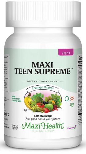 Maxi-Health Teen Supreme, כמוסות 120