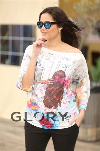 חולצת דאלי עטלף GLORY