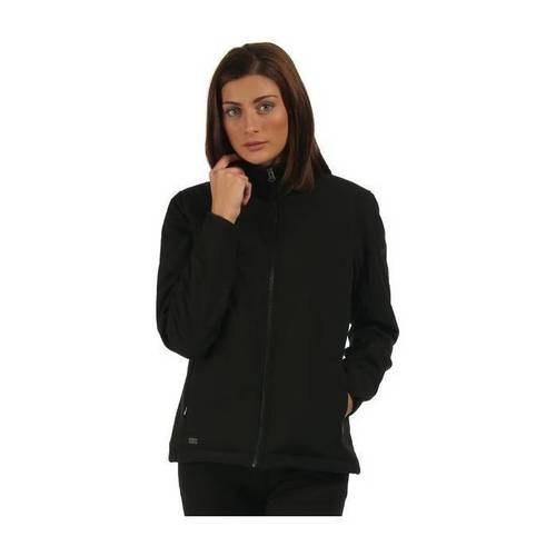 מעיל סופטשל נשים דגם Tulsie בצבע שחור REGATTA