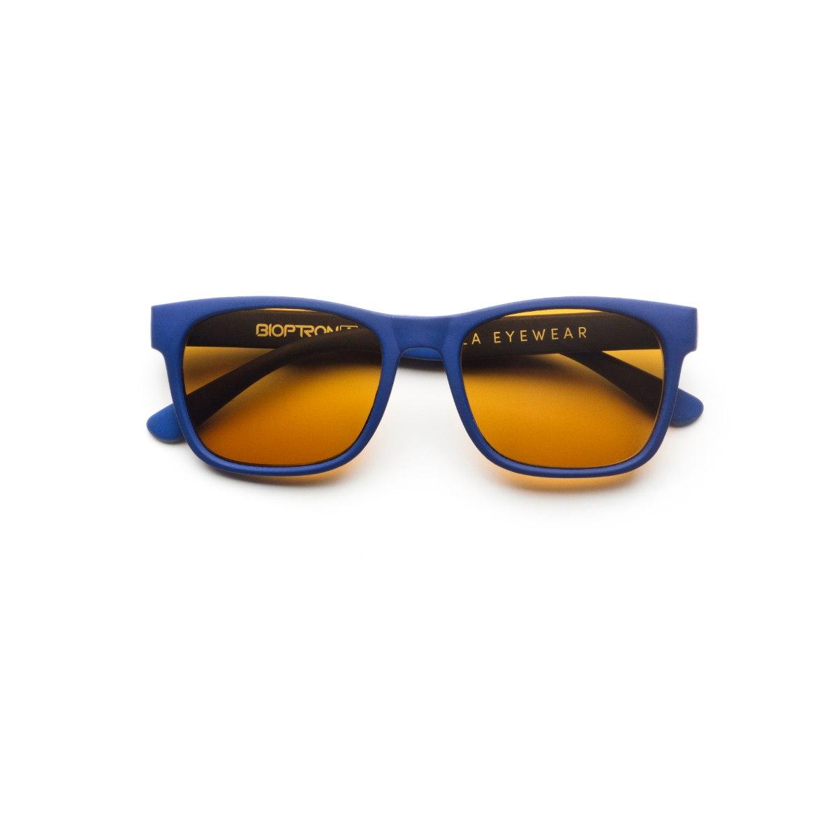 משקפי היפרלייט (נגד קרינה) לילדים,  דגם -0401BU מסגרת כחולה