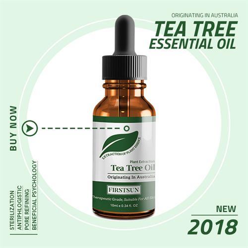 שמן עץ התה לסגירת נקבוביות