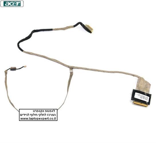 כבל מסך להחלפה במחשב נייד אייסר Acer Aspire 5750 / Gateway NV55S NV57H LCD Video Cable DC02001DB10 , DC020017K10