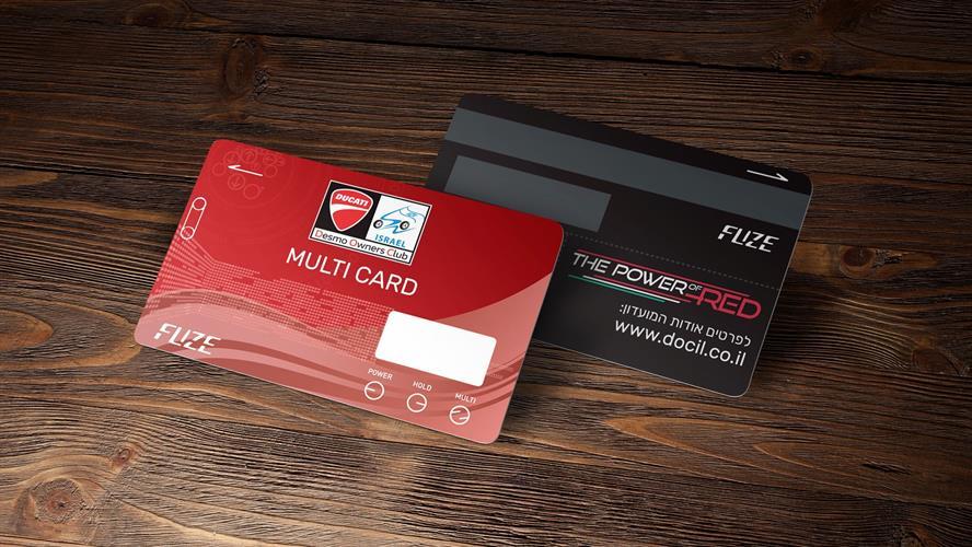 DUCATI FUZE Card