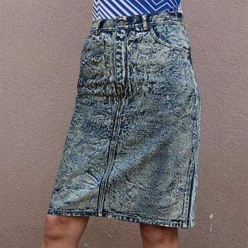 חצאית ג'ינס Stone wash של Levi's מידה M