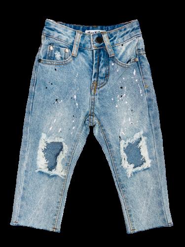 ג׳ינס ארוך קרעים