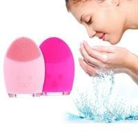 מברשת ניקוי פנים נטענת מסיליקון - Deep clean