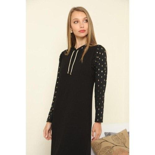שמלת בית מקסי להנקה מבית Eva Show