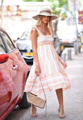 שמלת כתפיות FM