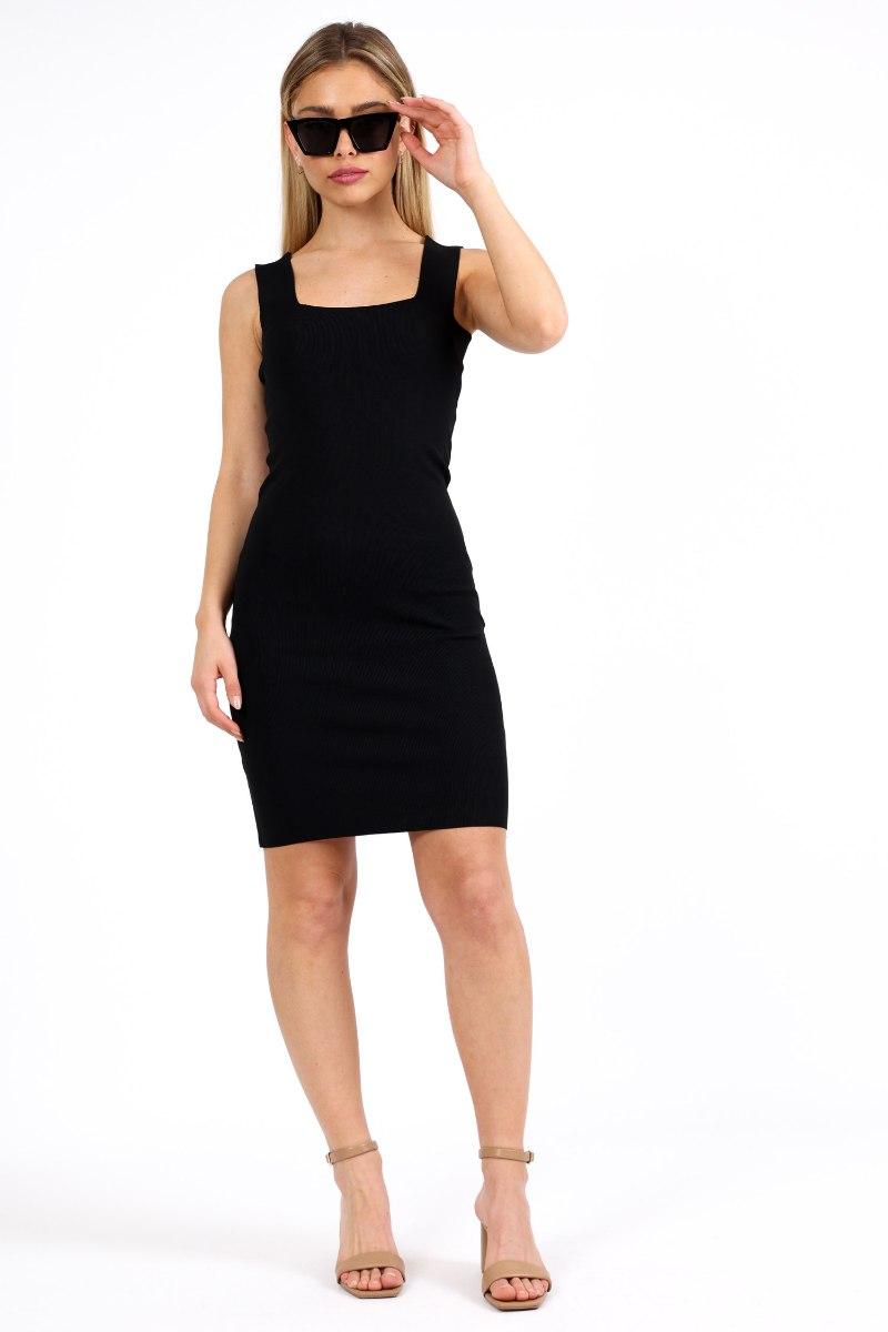 שמלה  לין שחורה