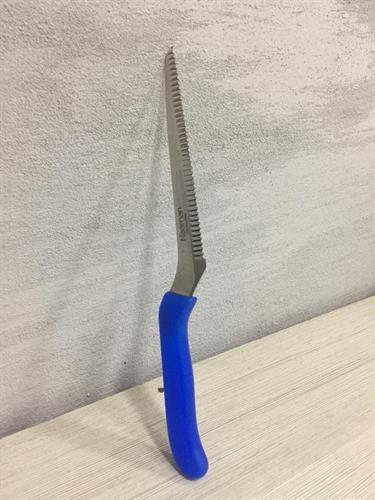 """סכין  מולטי 14ס""""מ 1.5מ""""מ סכין משוננת של נעמן פורצלן"""