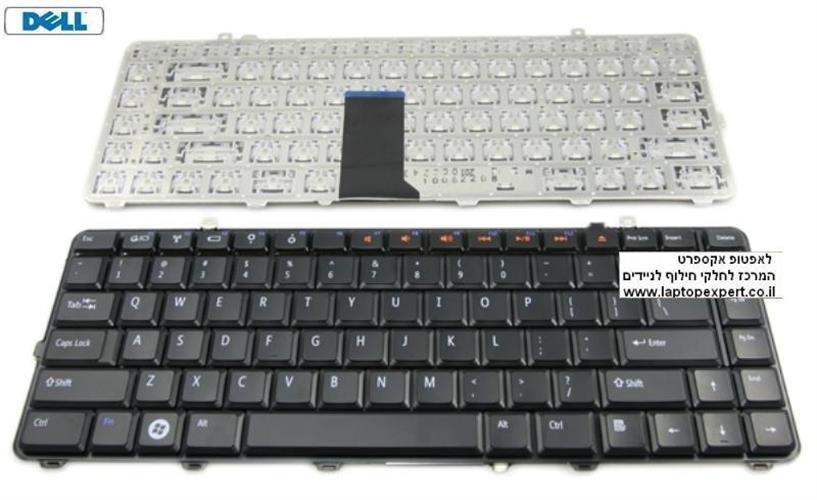 החלפת מקלדת למחשב נייד דל Dell Studio 15 1535 1536 Laptop Keyboard Black - NSK-DC001 , 9J.N1M82.101