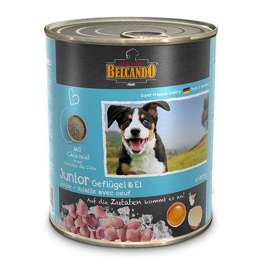 שימורי מזון כלבים בלקנדו – ג'וניור עוף 800 גר'