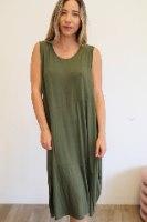 שמלת בלון ירוקה